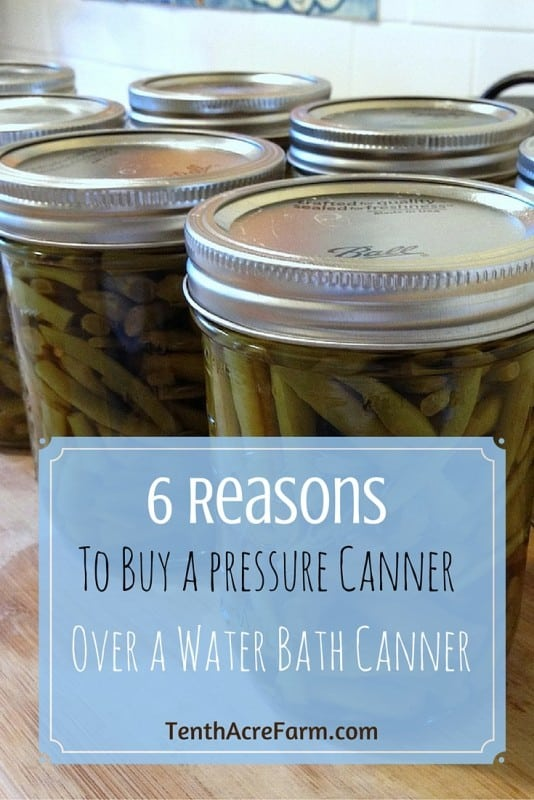 6 Reasons to Buy a Pressure Canner: The pressure canner is a versatile kitchen tool. Find out all the ways it can be used to save you time and money.